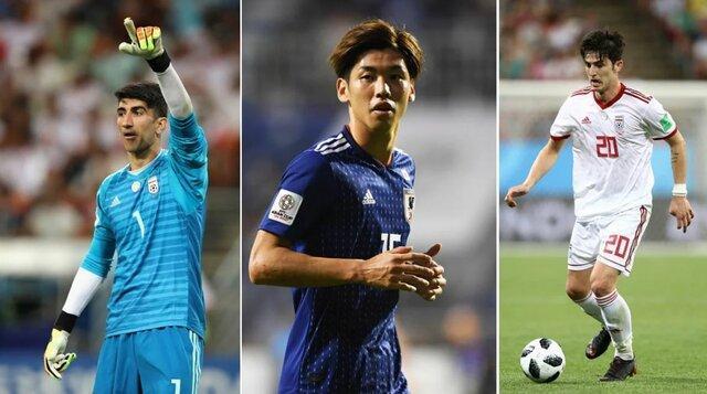 5 بازیکن تعیین کننده در دیدار ایران و ژاپن از نظر فاکس اسپورت