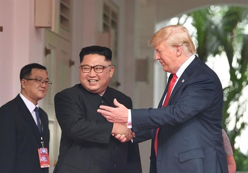 نیویورک تایمز: ترامپ مقابل رهبر کره شمالی لحنی چاپلوسانه داشت