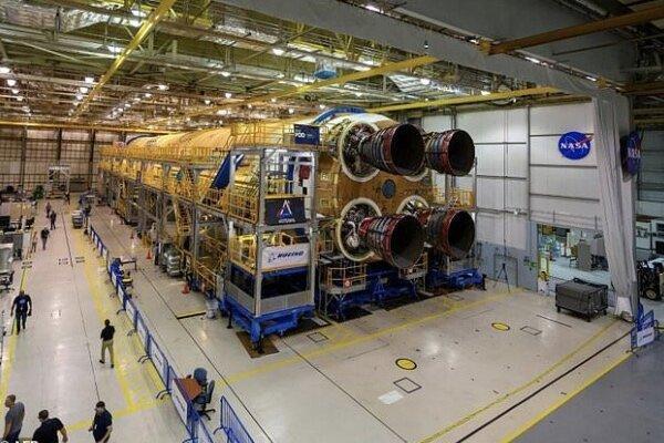 موشک 65 متری ناسا در 2020 آزمایش می شود