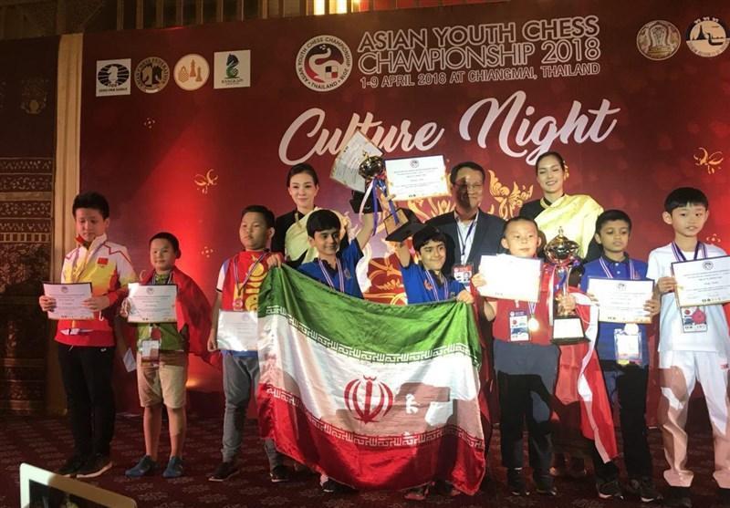 شطرنج قهرمانی نوجوانان آسیا، 3 مدال برای ایران در برق آسا