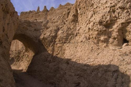 کوه خواجه در جریان سیل سیستان و بلوچستان آسیب دید