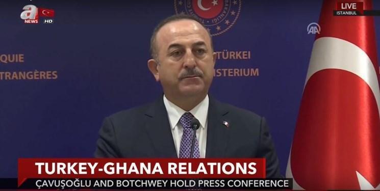 وزیر خارجه ترکیه: به دنبال آتش بس در لیبی هستیم