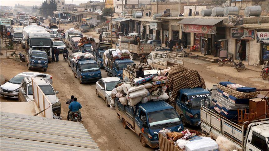 فرار بیش از 39000 غیرنظامی دیگر از ادلب سوریه (