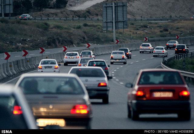 تردد در ورودی ها و محورهای خوزستان عادی است