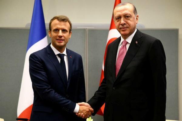 رایزنی تلفنی اردوغان و ماکرون با موضوع تحولات ادلب