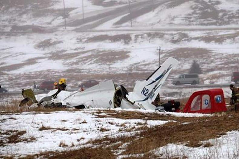سقوط هواپیما در کانادا و مرگ وزیر سابق این کشور