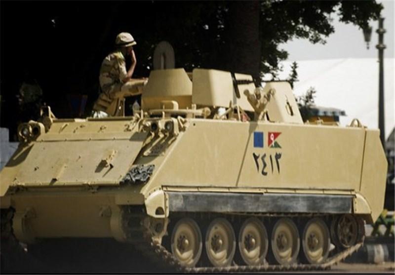 ارتش ساختمان رادیو و تلویزیون مصر را تصرف کرد