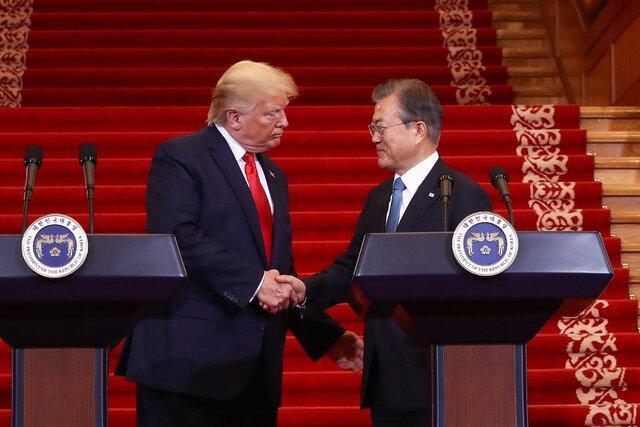 آمریکا برای مقابله باکرونا از کره جنوبی یاری خواست