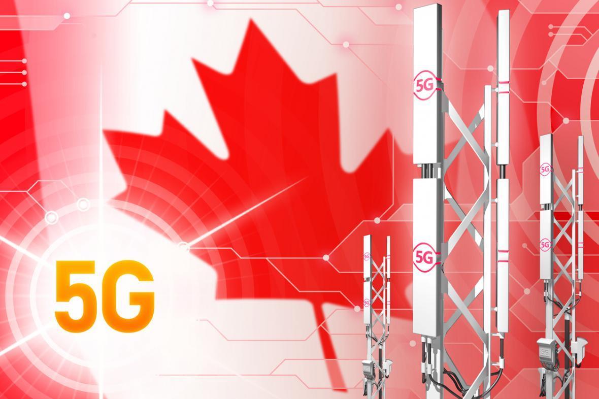 راه اندازی شبکه 5G در پنج شهر عظیم کانادا