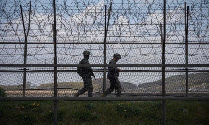 تنش در مرز دو کره بالا گرفت ، تبادل آتش میان سربازان شمال و جنوب