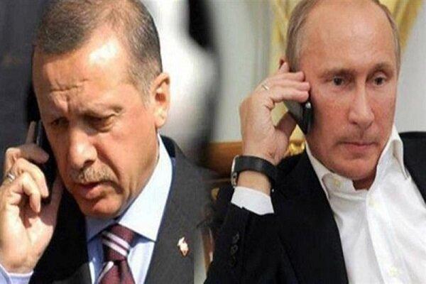 گفتگوی پوتین و اردوغان درباره تحولات مرزی آذربایجان و ارمنستان