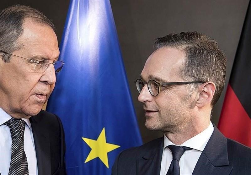 مذاکرات تلفنی لاوروف با همتای آلمانی درباره اوضاع انسانی در سوریه