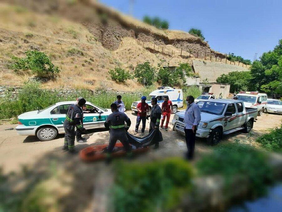 دختر 19 ساله در رودخانه فشم غرق شد