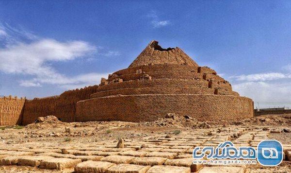 پیشرفت 65 درصدی بازسازی یخدان لنگر در کرمان