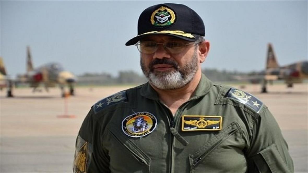 آمادگی کامل نیروی هوایی برای دفاع از مرز های هوایی کشور جانفشانی ارتش جمهوری اسلامی ایران برای مردم