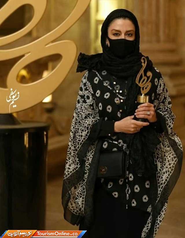 مدل مانتو بازیگران زن ایرانی در جشن حافظ 99