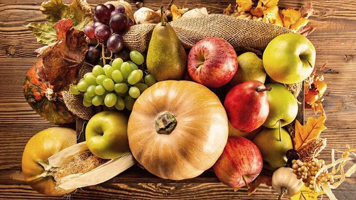 بهترین میوه ها و سبزیجات برای پاییز!