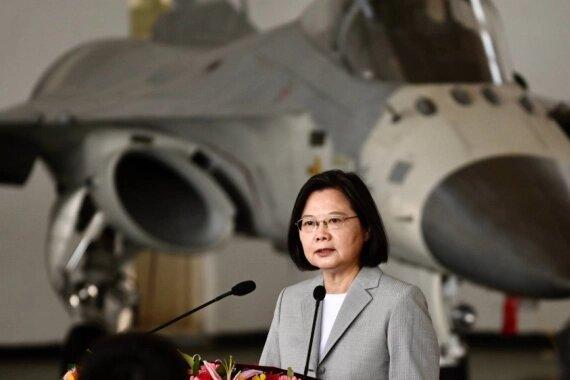 واکنش تایوان به ورود هواپیمای چین به منطقه پدافند هوایی