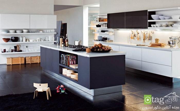 مدل های جدید تزئین جزیره آشپزخانه با ایده های منحصر بفرد