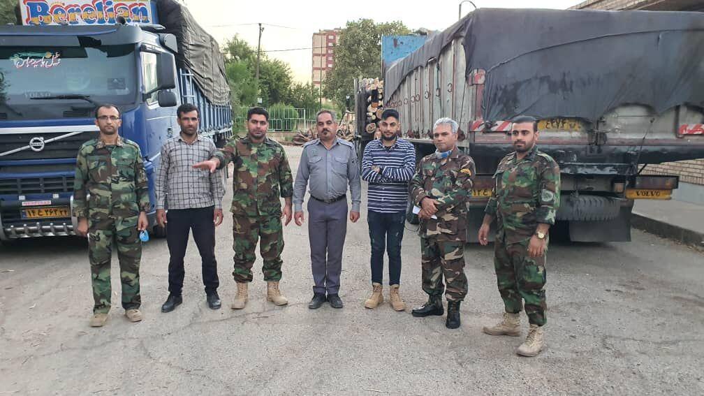 خبرنگاران 18 تن چوب قاچاق در دزفول کشف شد