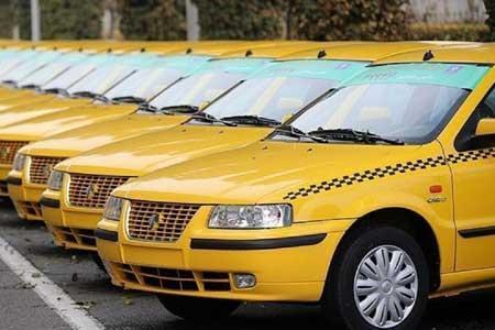 تاکسی ها مشمول طرح منع تردد نمی شوند