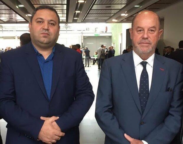 طباطبایی در جلسه آنلاین با رئیس فدراسیون جهانی کاراته