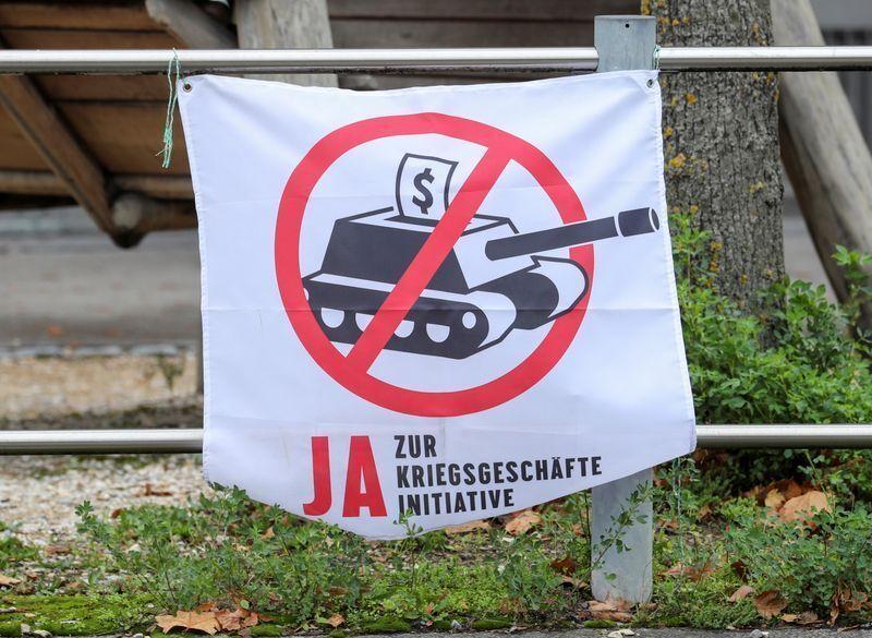 همه پرسی سوئیس در مخالفت با یاری به جنگ تسلیحاتی دنیا