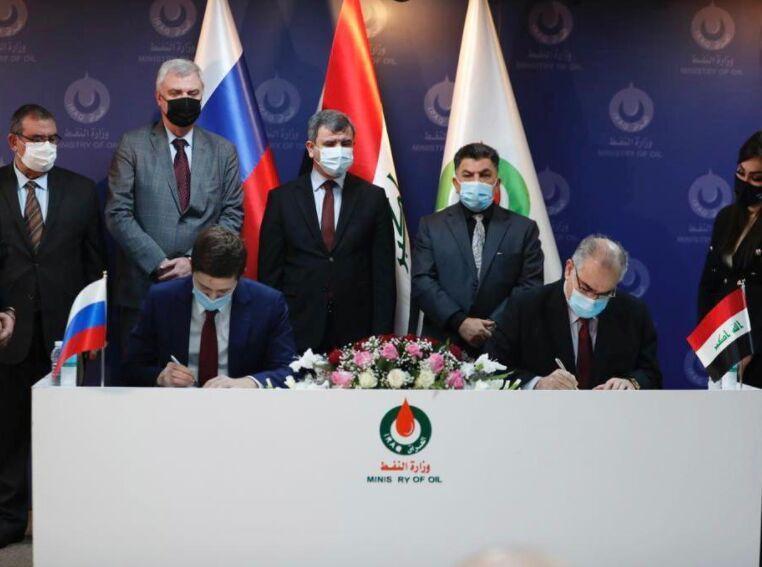 خبرنگاران قرارداد عراق با شرکت روس برای اکتشاف نفت