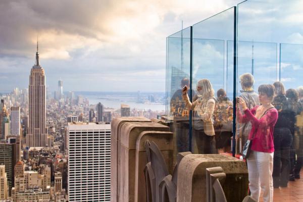 مقاله: بر بلندای Rock Observation Deck نیویورک، کانادا