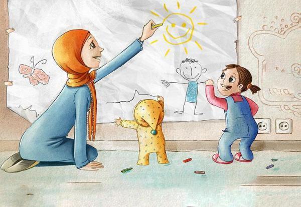 خانواده به منزله اولین مدرسه تربیت کودک