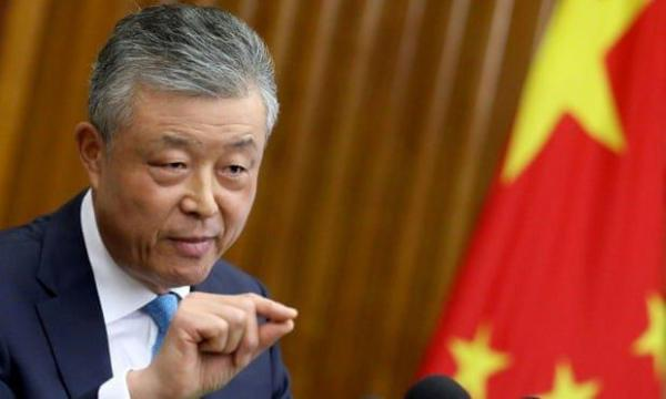 سفیر چین در انگلیس بعد از 10 سال تغییر می نماید