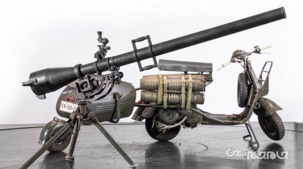 تبدیل موتور وسپا به ماشین جنگی