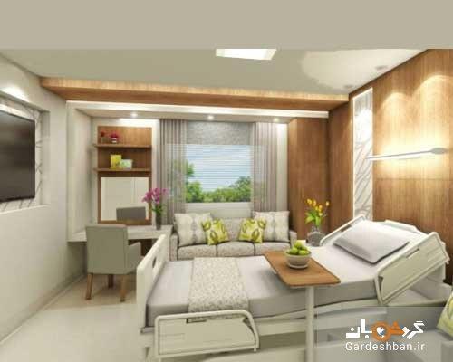 افتتاح هتل بیمارستان حکیم در دهه فجر، پیشرفت 65 درصدی بزرگترین هتل 5 ستاره کرمانشاه