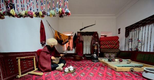 نمایش گوشه ای از فرهنگ اقوام خراسان شمالی در موزه عمارت مفخم