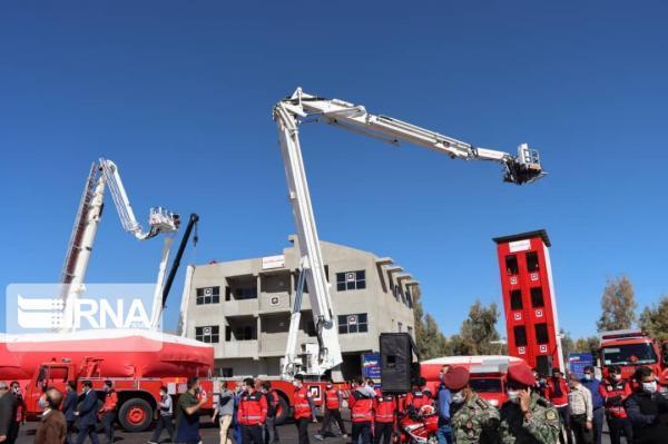 خبرنگاران سایت آموزشی آتش نشانان جنوب کشور در شیراز افتتاح شد