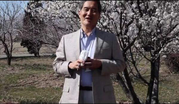 پیغام تبریک تصویری سفیر و اعضای سفارت ژاپن به مناسبت عید نوروز