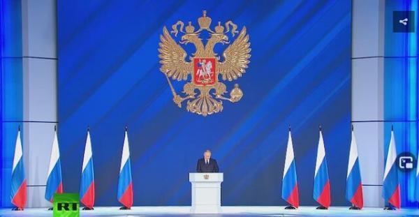 سخنرانی سالانه پوتین با تاکید بر واکسیناسیون و افزایش جمعیت روسیه