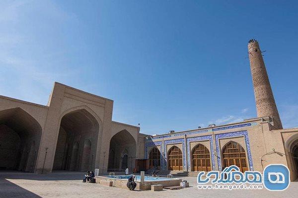 مرحله نو بازسازی مسجد جامع دامغان شروع شد