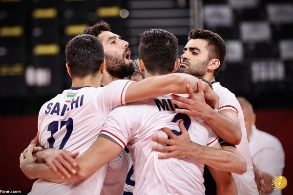 روز و ساعت بازی والیبال ایران - ایتالیا