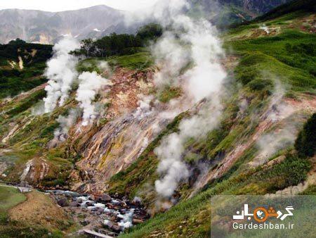دره آب فشان ها ؛ یکی از عجایب هفتگانه روسیه، تصاویر
