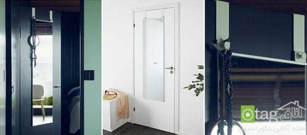 مدل آینه پشت دری مناسب اتاق خواب، حمام و سرویس بهداشتی